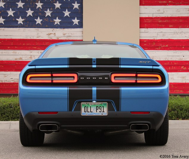 2016 Dodge Challenger SRT 392 rear