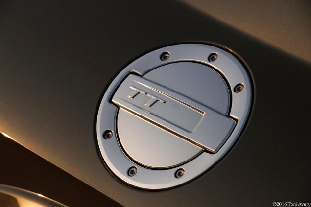 2016 Audi TTS Coupe gas cap