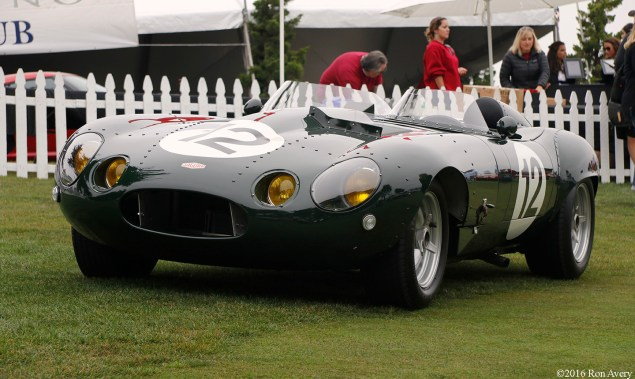 Concorso Italiano E-Type turned D-Type