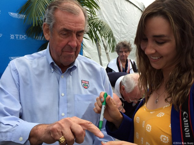 David Hobbs and Toni Avery