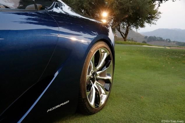 Lexus LF-LC Concept rear detail