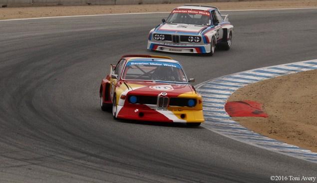 Rolex Monterey Motorsports Reunion BMW 3.0s