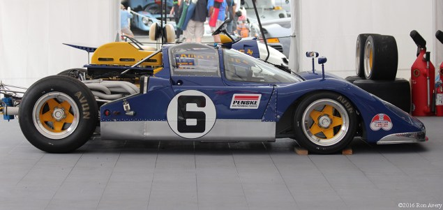 Rolex Monterey Motorsports Reunion Penske Sunoco profile