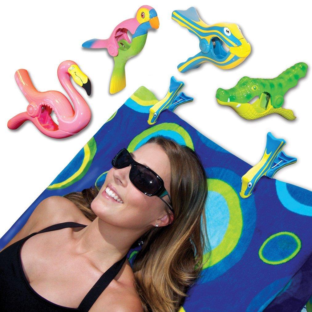 Boca Beach Towel Clips  Girls Getaway Tips