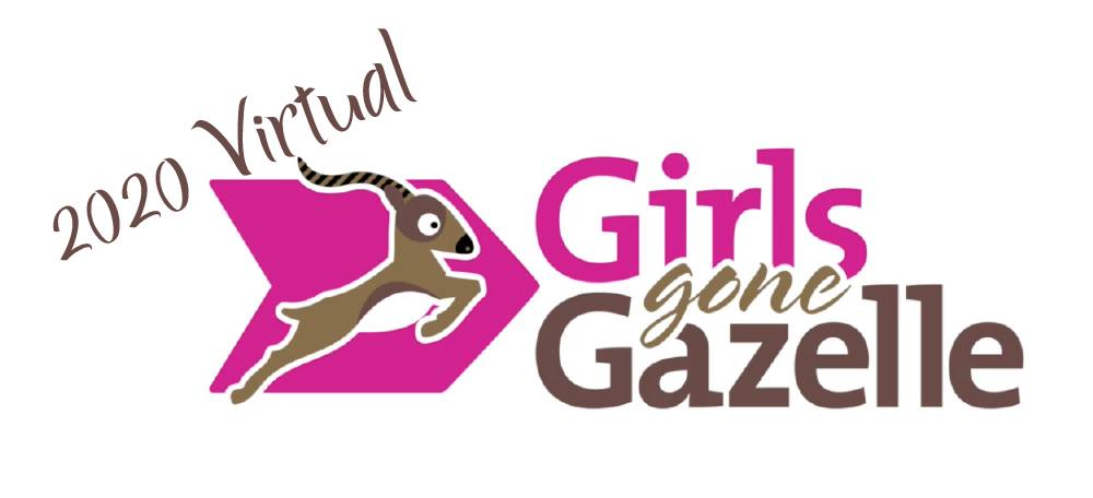 Girls Gone Gazelle VIRTUAL Challenge from April 20 – June 13th