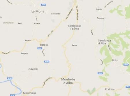 Barolo map