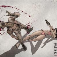 Girls in Their Undies vs Zombies
