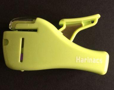 stapleless stapler clipped