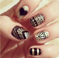 Simple Black Nail Art Designs & Supplies For Beginners