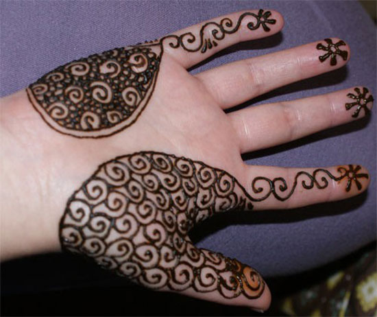 20 Basic Designs Henna Hand Tattoos Ideas And Designs