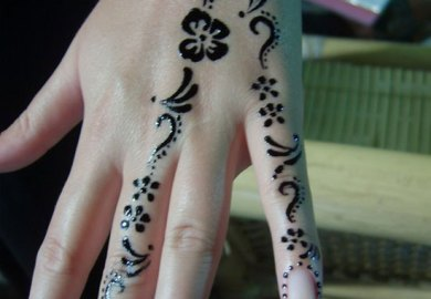 Easy Mehndi Designs For Hands For Beginners