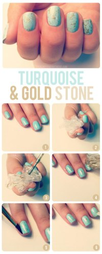 25 Best & Easy Nail Art Tutorials 2012 For Beginners