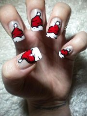 9 christmas nail art design