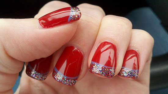 Christmas Nail Art Designs 2017 Ideas Images Tutorial Step By Flowers Pics Photos Wallpapers