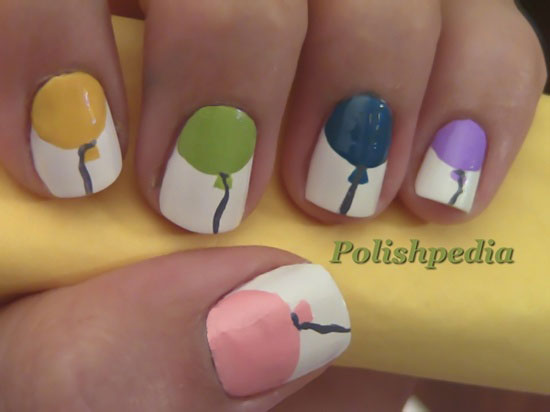 20 Happy Birthday Nail Art Ideas Designs For