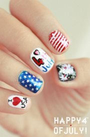 awesome 4th of july nail art