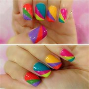 awesome summer nail art design