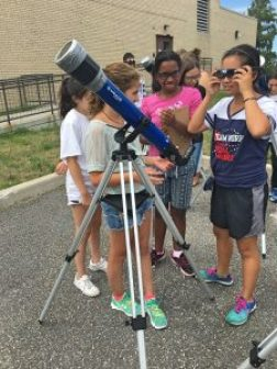 Day 1- Using telescopes to see sun spots _Fotor