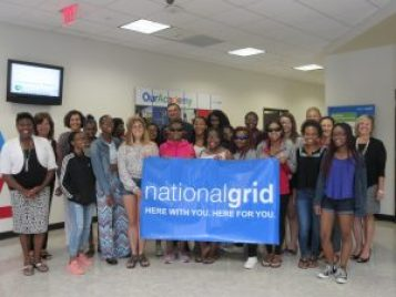 Day 4- National Grid Group Picture