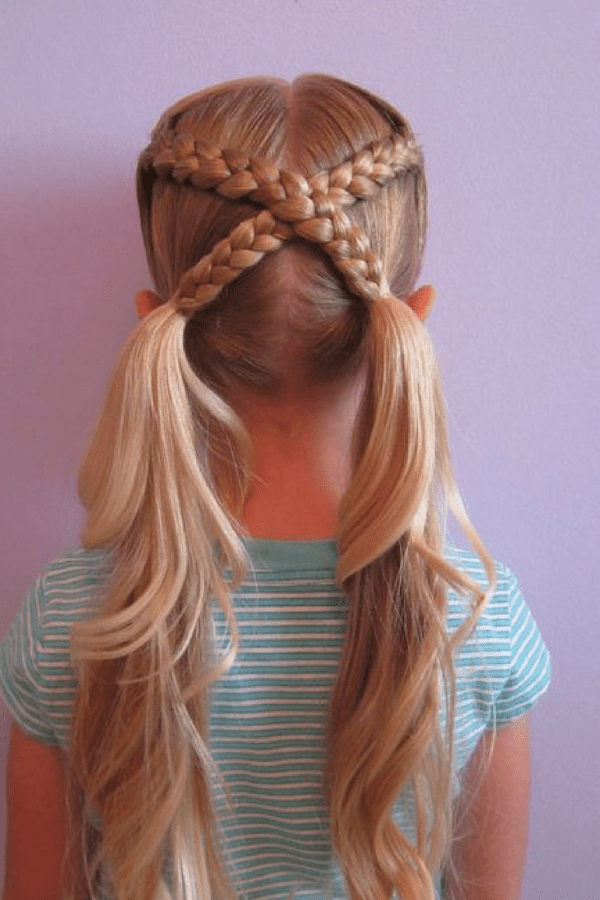 20 Cute Girls Hairstyles | Get Your Kids Ready for a Fun ...