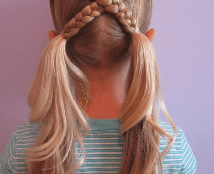 20 Cute Girls Hairstyles Get Your Kids Ready For A Fun School Time