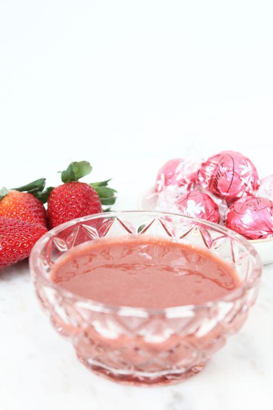 Strawberries Mask