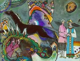 Kandinsky - Golden Cloud 1918 (Via Wassily Kandinsky.net)