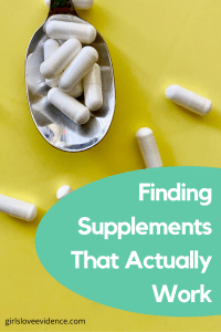 finding supplements that actually work