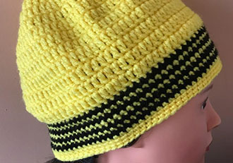 Hand Made Beanie Wool or Cotton