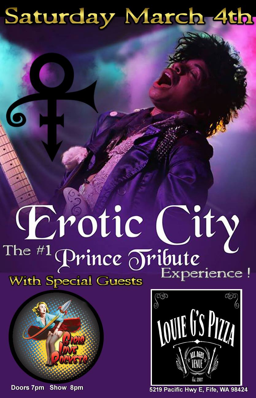 Girls Love Rockets with Erotic City (Prince Tribute)