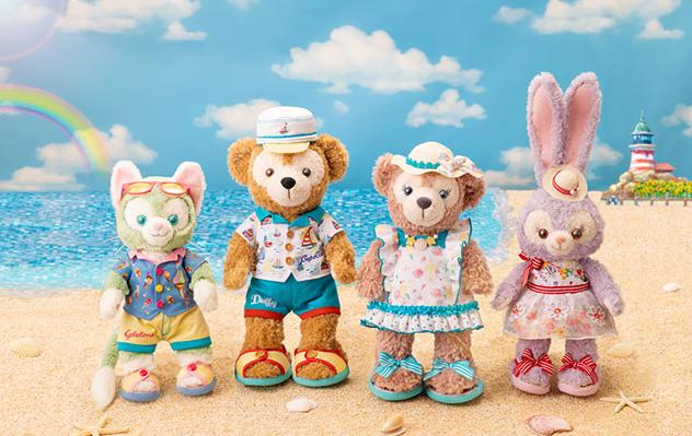 這些必須買起來!2019東京迪士尼「達菲的夏日時光」,40款超萌新品來了!看著他們心就被療癒啦~ – GirlsMood ...