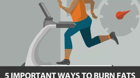 5 important ways to burn fats - GirlsnBeauty