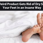This Weird Product Gets Rid of Dry Skin on Your Feet in an Insane Way