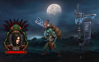 Pendão BlizzCon, Mascote e Retrato Murkgoblin no D3