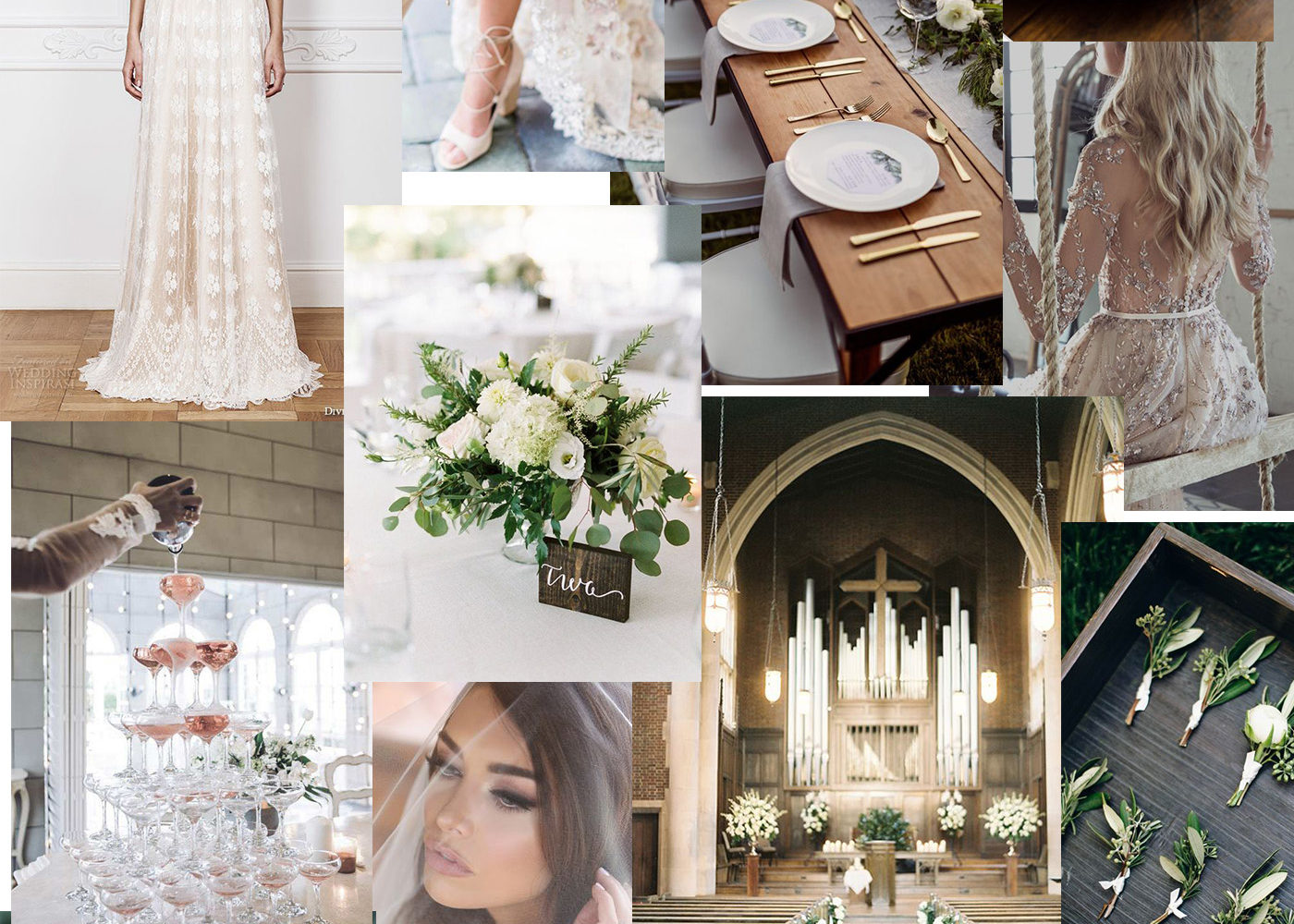 My Wedding Mood Board & First Thoughts