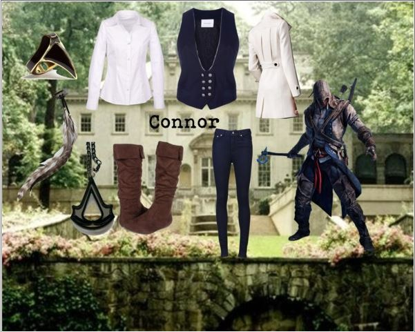 Connor inspored outfit by  haylie-tardis on Polyvore