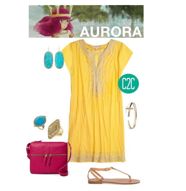 Aurora inspired Outfit by console-to-closet on Polyvore