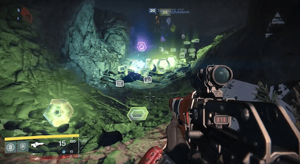 Destiny Loot Cave. Image via Joystiq