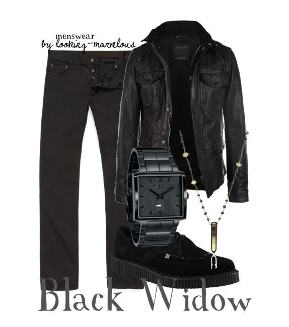 Black Widow inspired outfit by marvel-ous on Polyvore