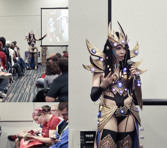 Montreal Comiccon 2013 Workshop. Image by Henrickson.