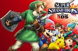 Super Smash Bros. 3DS Keyart © Nintendo