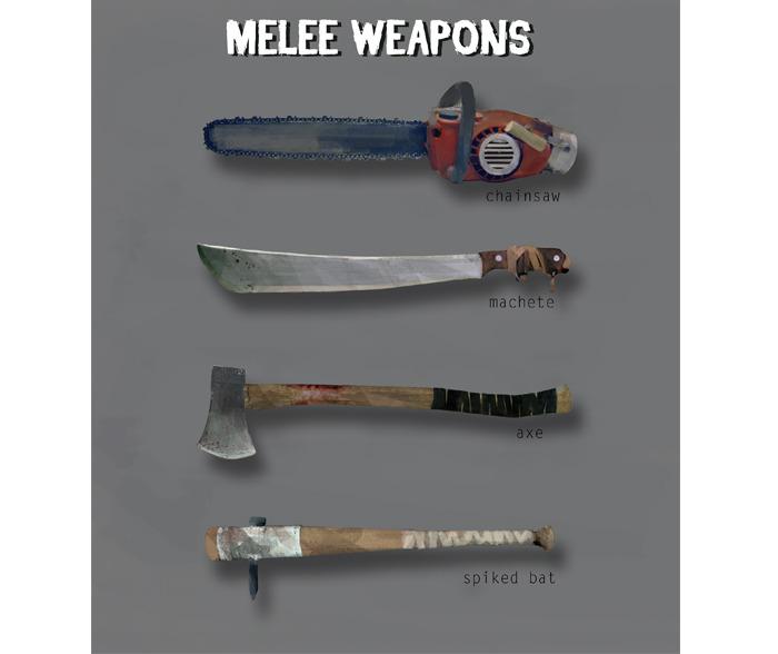 Last Year Murder Weapons - James Matthew Wearing