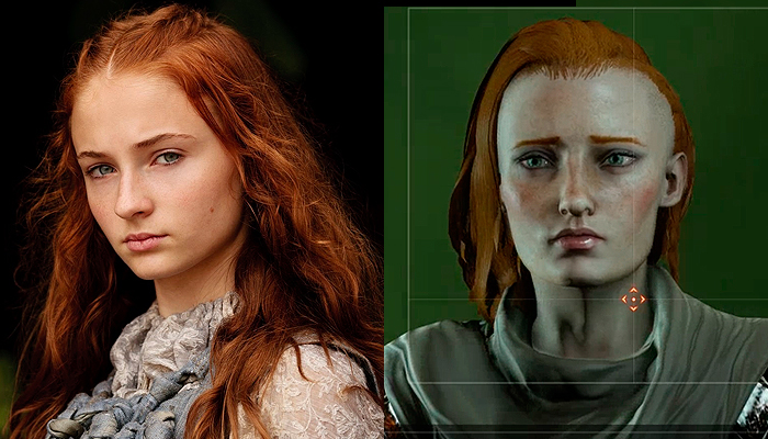 Sansa Stark from Game of Thrones Inquisitor.