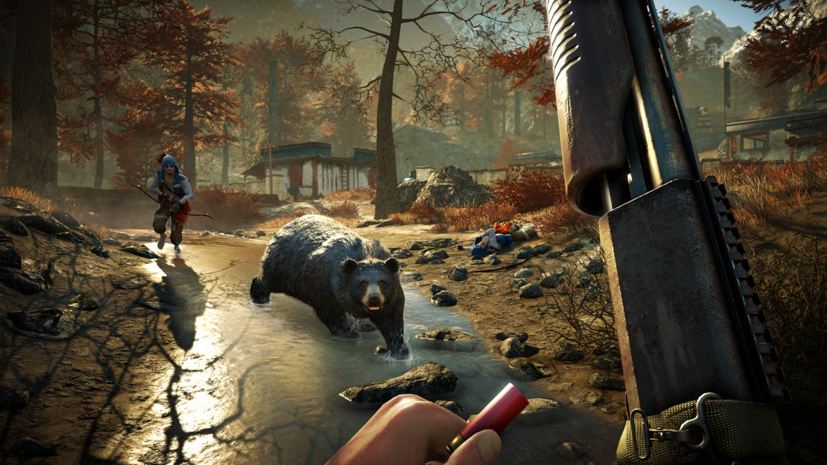 Far Cry 4 Bear Attack - Image via Techradar