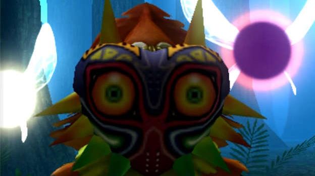 Majora's Mask 3D screengrab