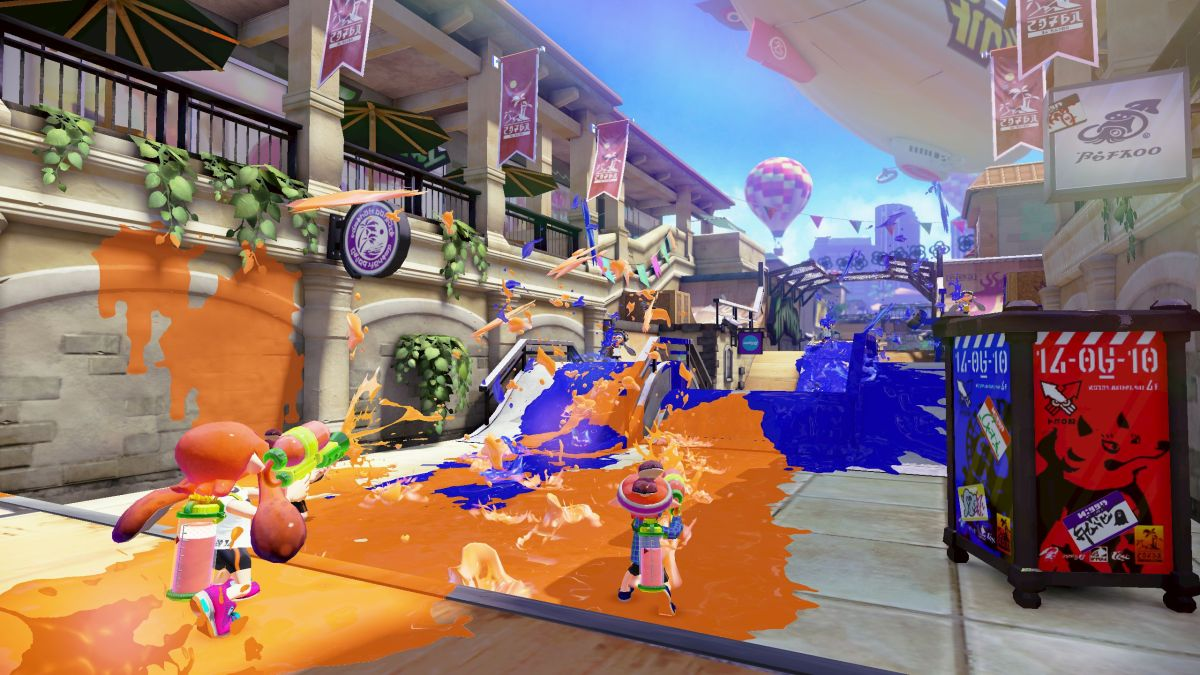 Splatoon (via Forbes)
