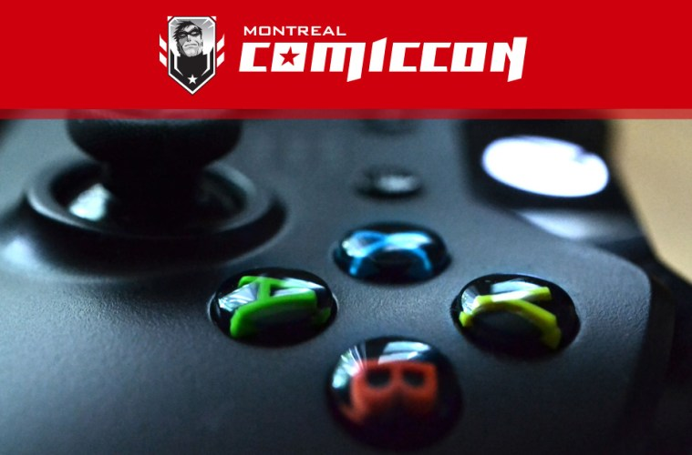 Montreal Comiccon 2015 - It's For The Gamers