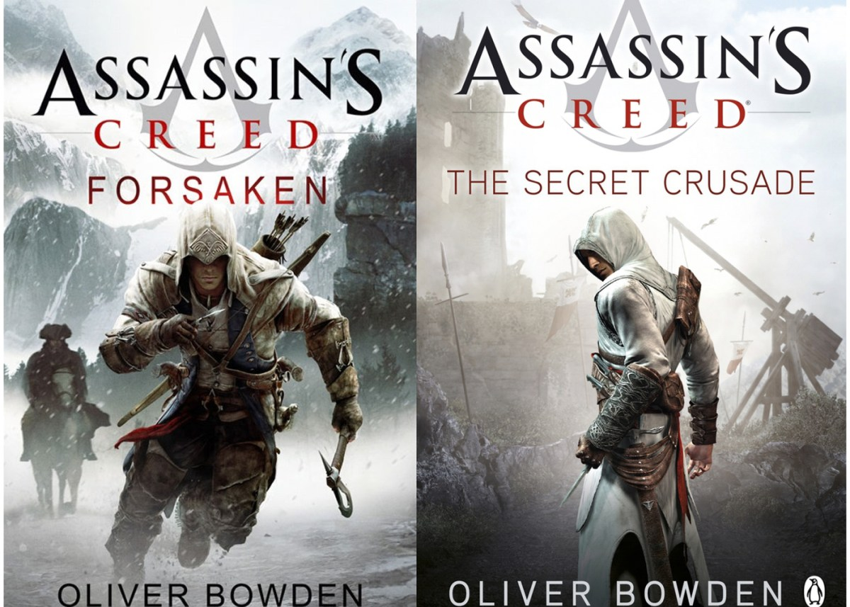 Assassin's Creed Novels - Images by Ubisoft