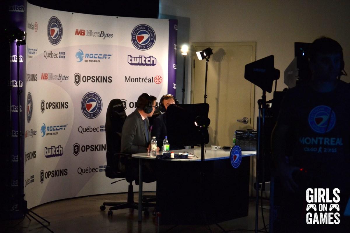 Twitch stream set at ESWC 2015