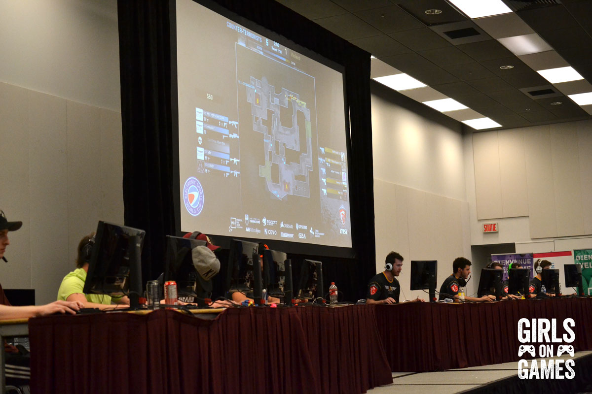 ESWC at Montreal Comiccon 2015